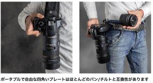 Amazon - UONNER カメラ クイックリリース カメラホルスター商品ページより引用